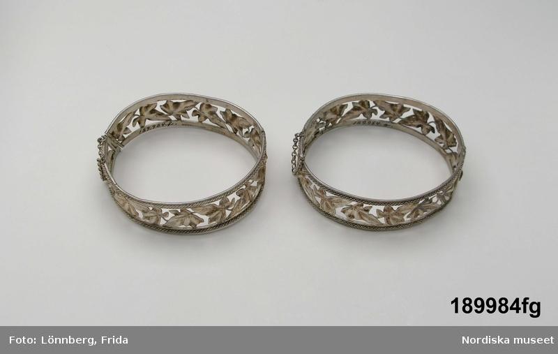 Silverbröllopsgarnityr