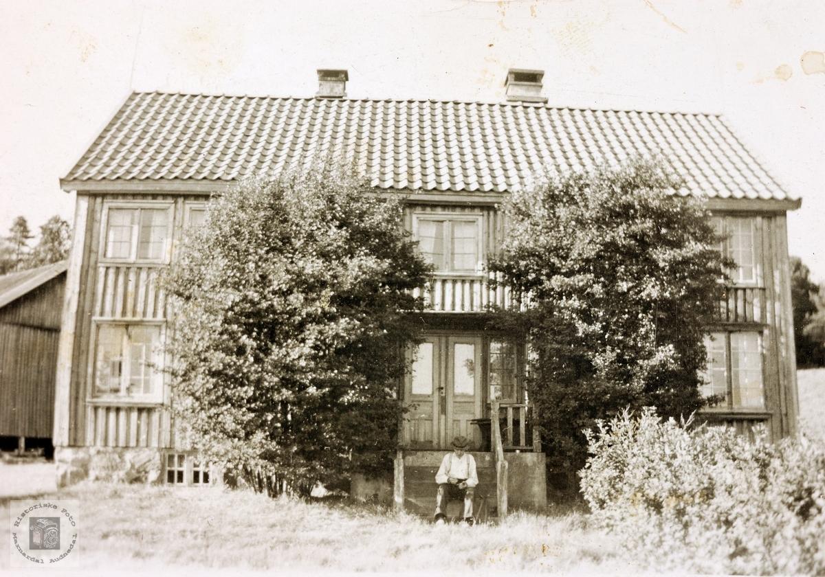 Huset på Monen, Øvre Øydna. Grindheim.