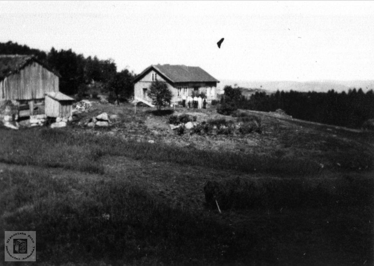 Garden Hjemlestad i Bjelland.
