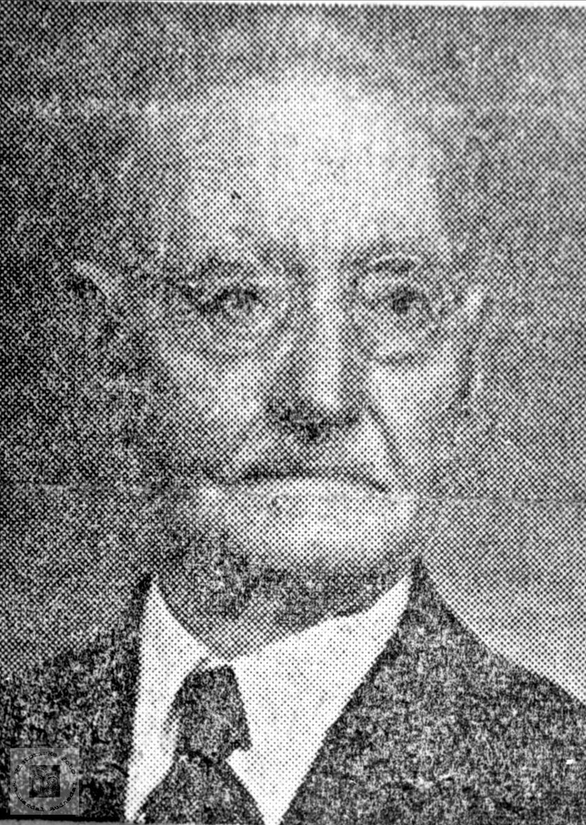 Portrett av Salve Sundbø, Bjelland.
