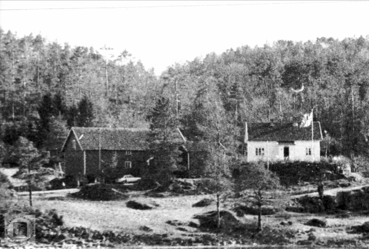 Røkking i Øyslebø.