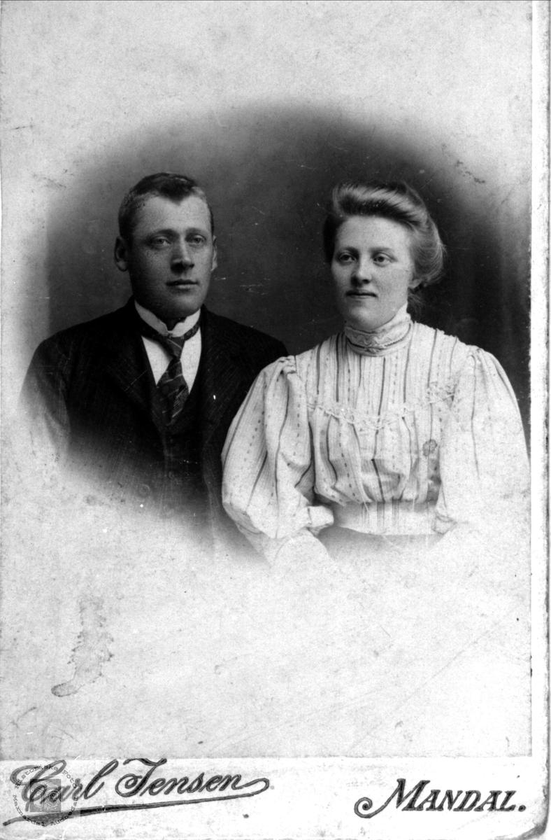 Ekteparet Ole og Johanna Fiddan