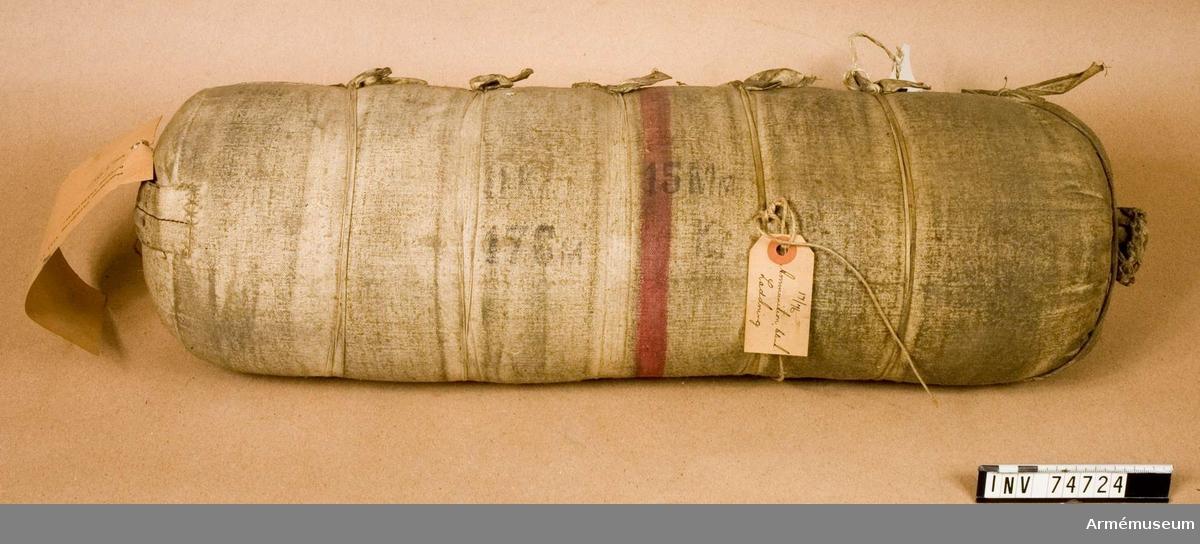 Grupp F.IV. Blind ammunition.