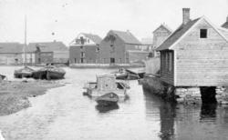 Sjøhus - Havn - Båter