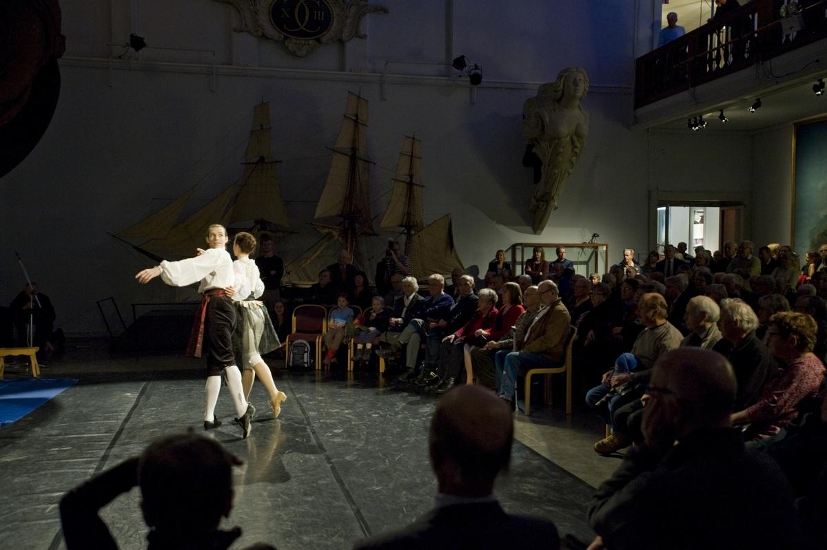 Invigning av Utställningen Vem är pirat? Sjöhistoriska Museet.
