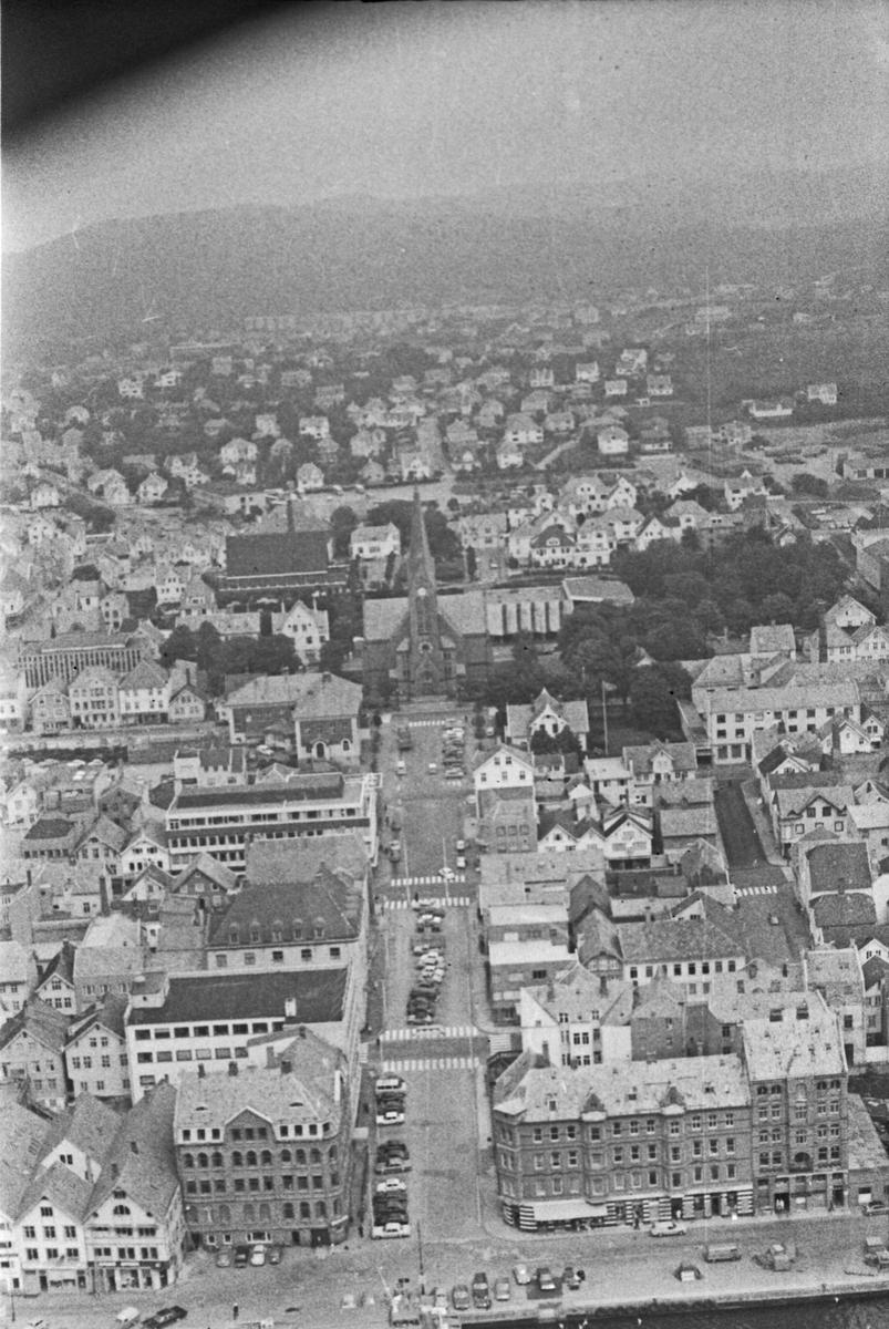 Flyfoto fra Haugesund.