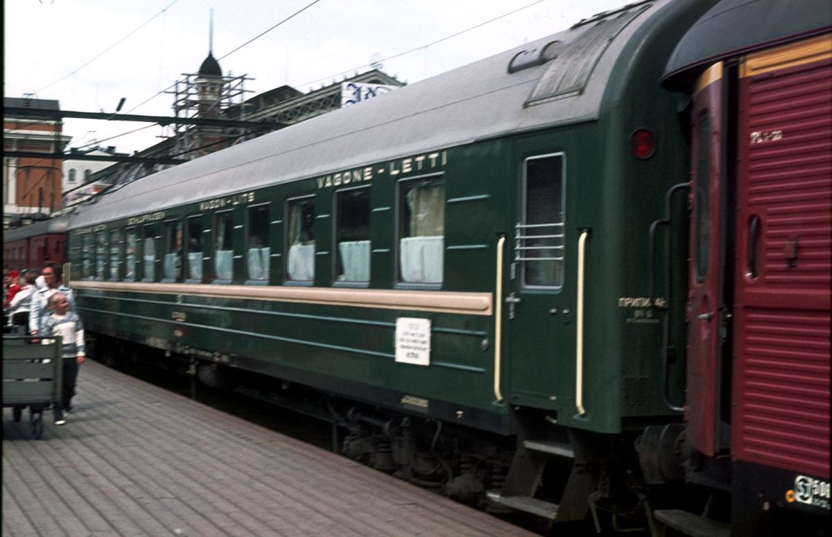 Sovevogn til Moskva.
