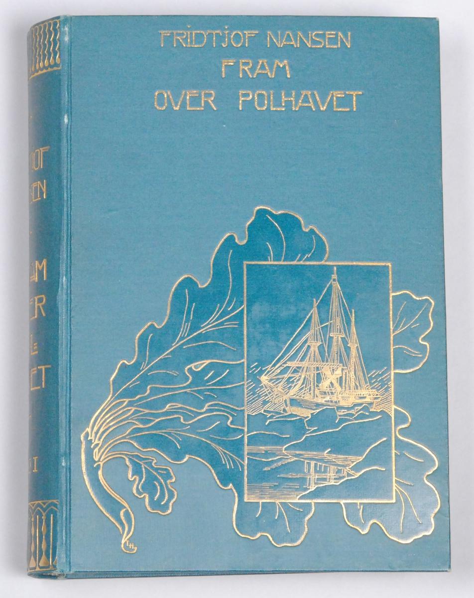 Fram over polhavet. Den norske polarfærd 1893-1896 [Bok]