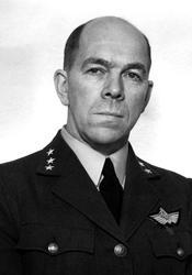 Portrett av en mannlig offiser - militær person