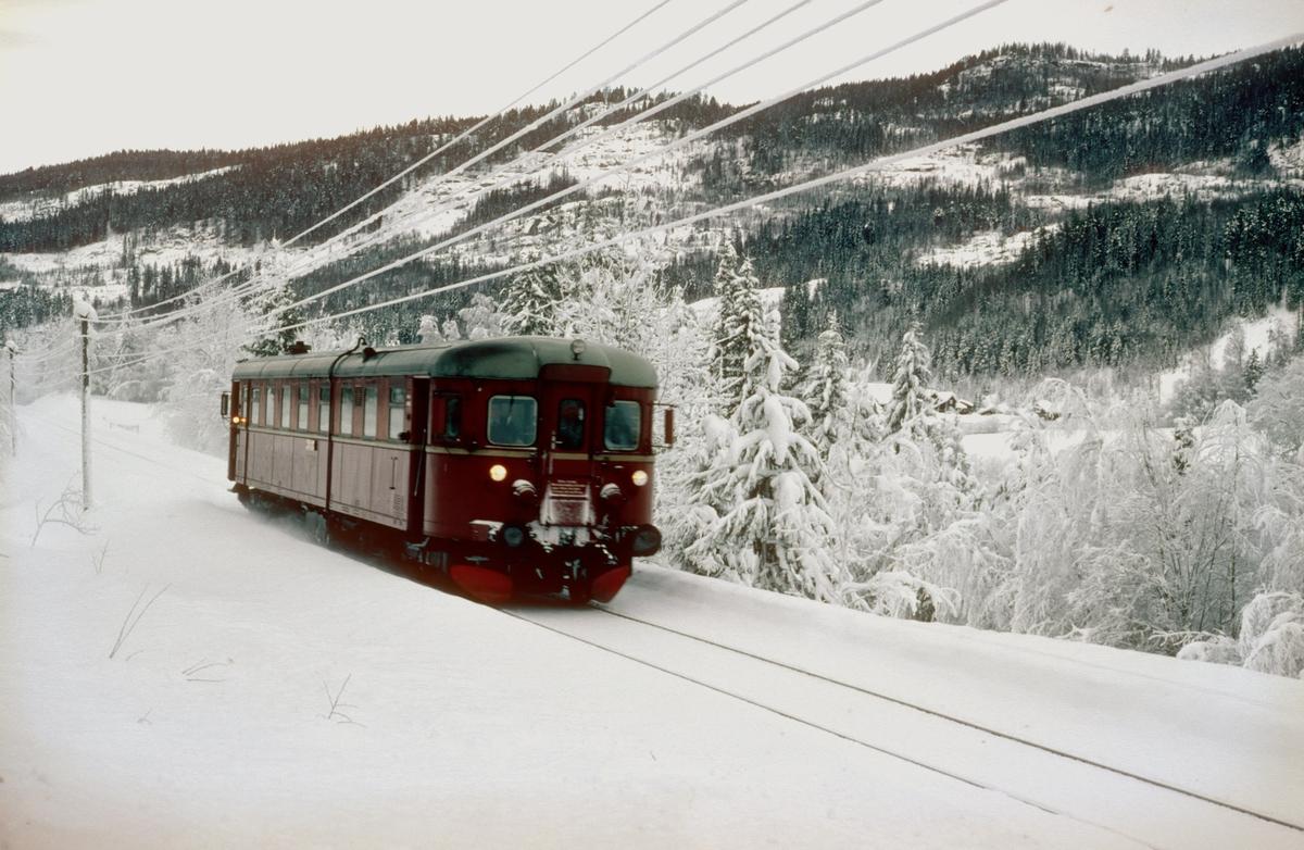 Persontog til Rødberg på Numdalsbanen.