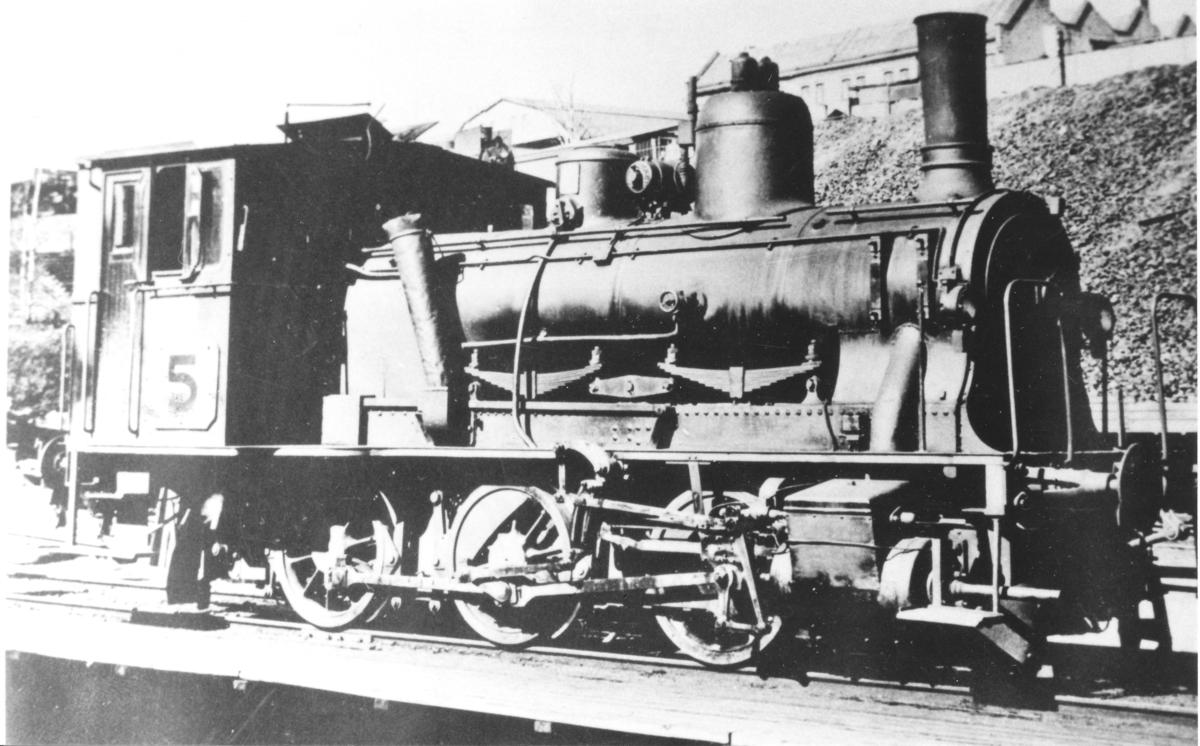 Damplok type 25 i skiftetjeneste i Oslo