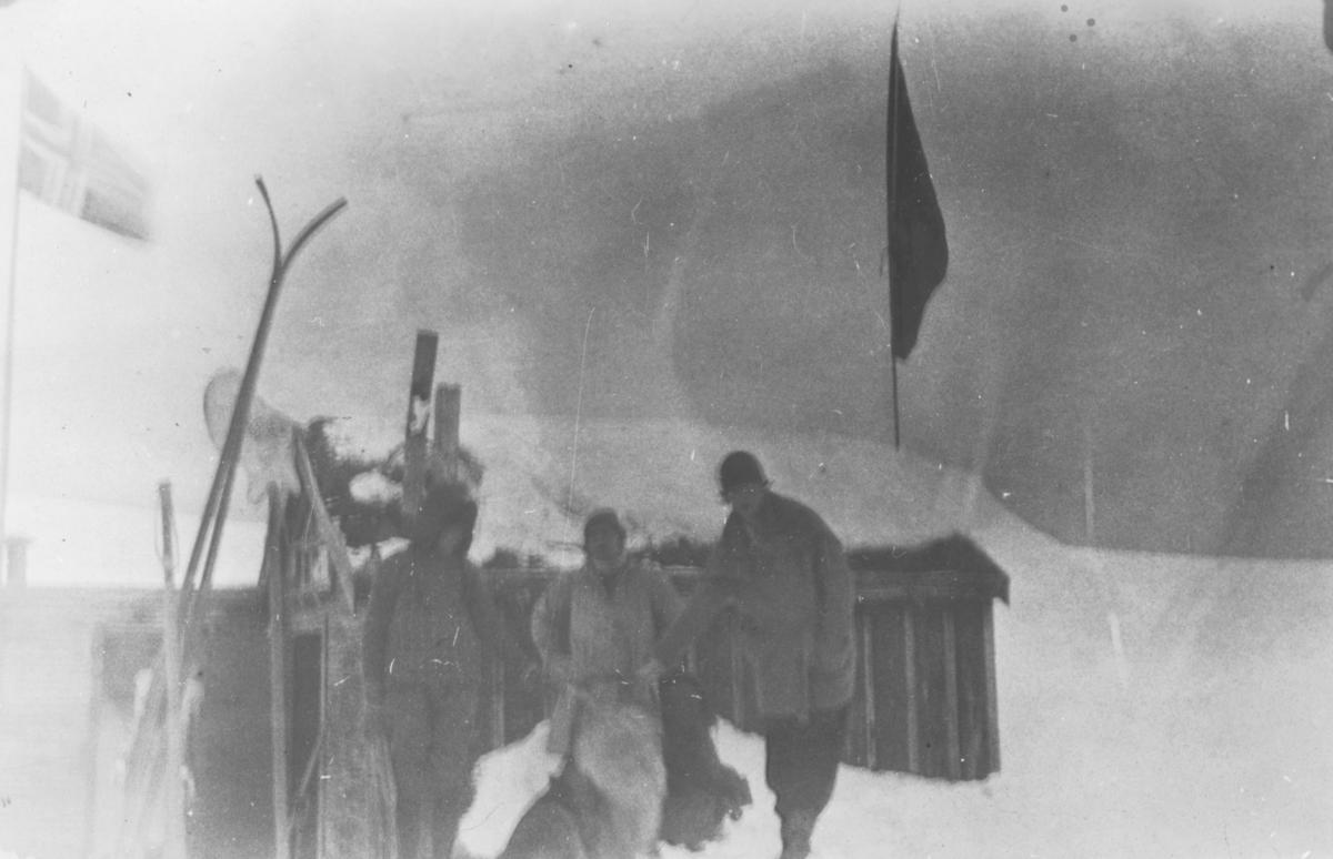 Blåsenborg  påsken 1935