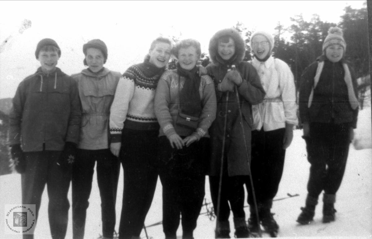 Skitur til Heldås