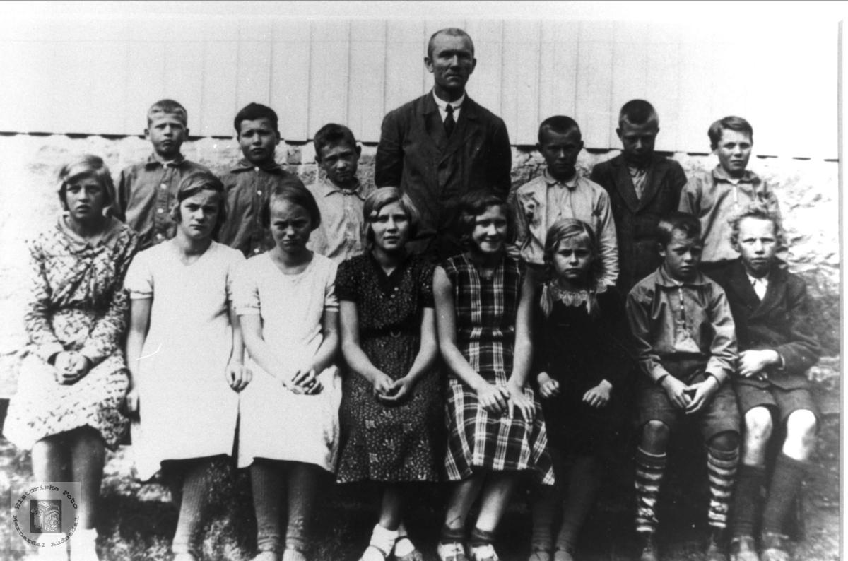 Brusletta skole 1933/34