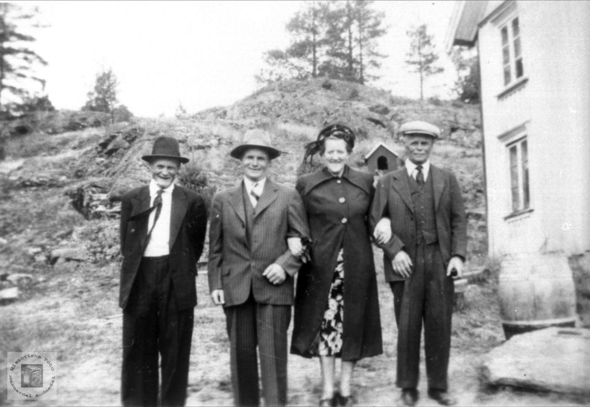 Amerikabesøk på Røynesdal