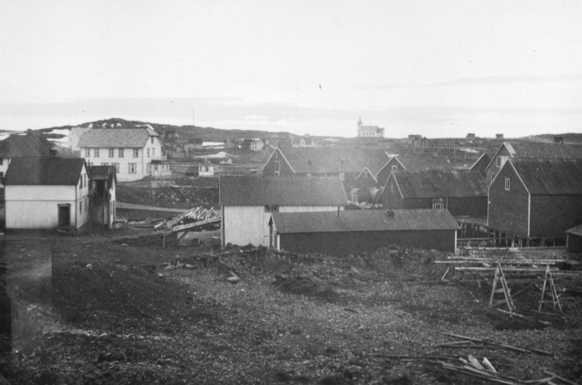 Boliger og bygninger på en ukjent plass i Finnmark