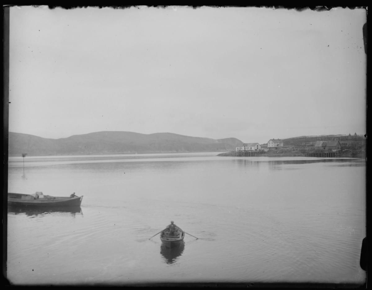 Reisen nordover november 1912.