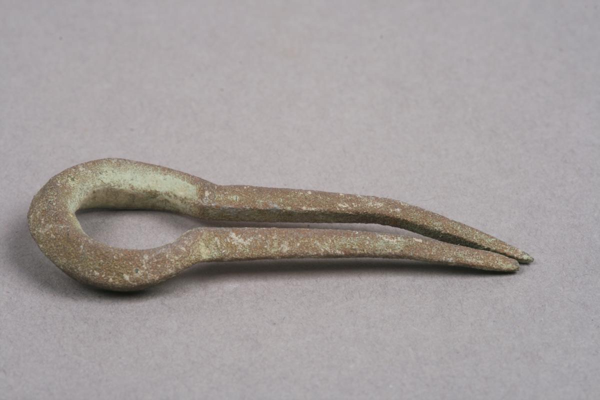 Munnharpe av metal, uten tunge.