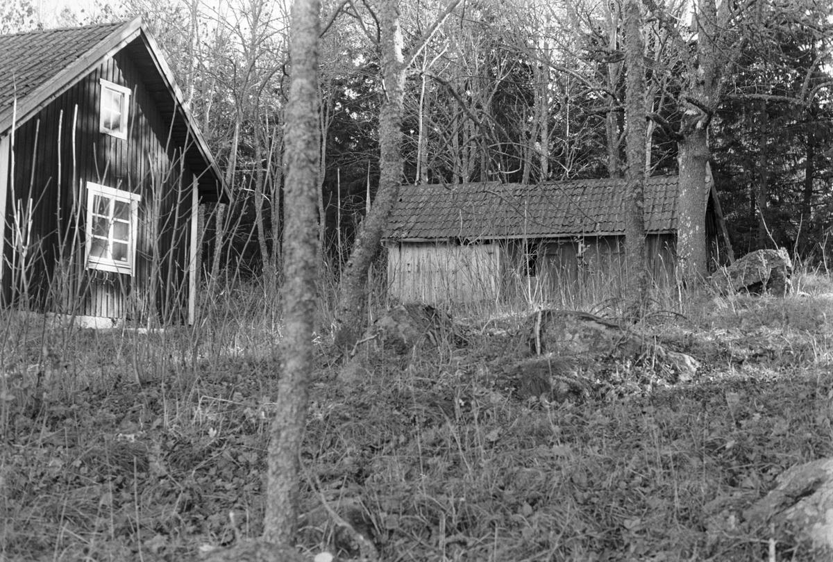Bostadshus och uthus, Tibble-Vrå 4:1, Lundbo, Skogs-Tibble socken, Uppland 1985