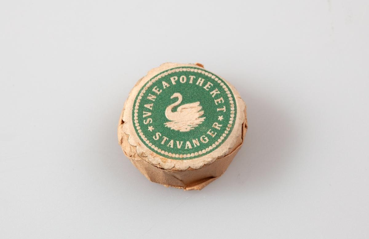 Klisje pakket i papir. For trykking av etiketter (apotekmerker).