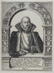 Tycho Brahe Porträtt [Konstverk]