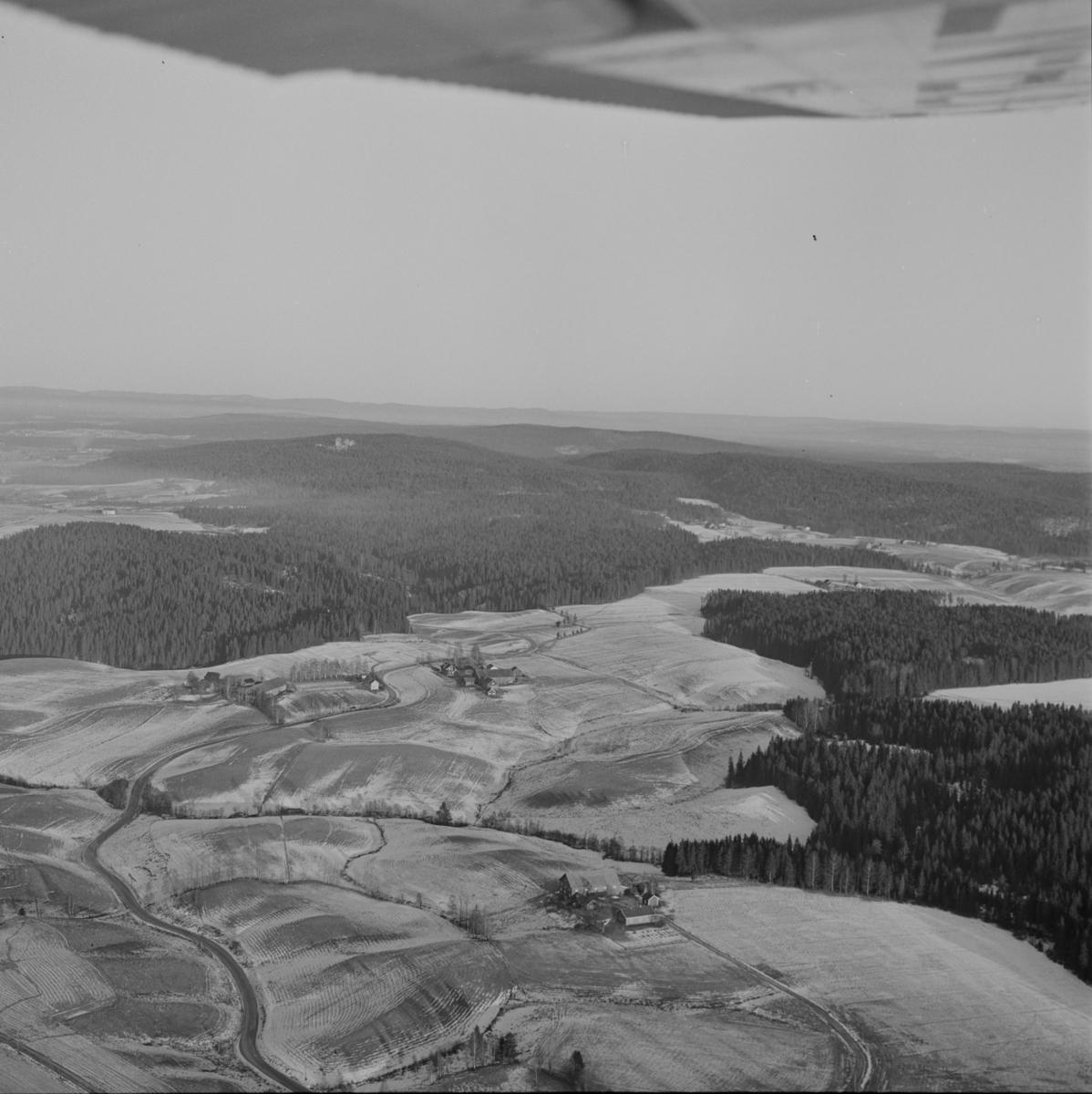 Flyfoto over Sørum, Gjerdrum