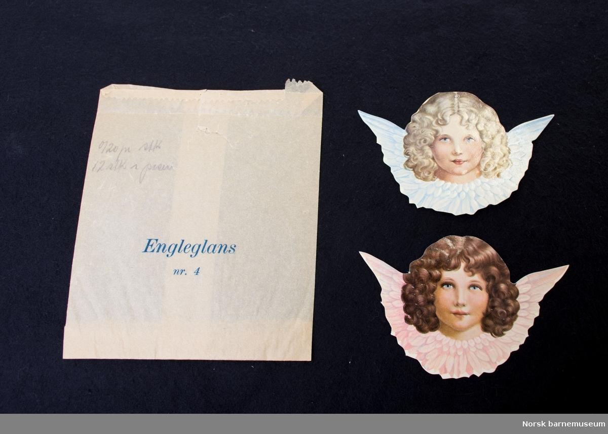 Telefonkatalog for Stavanger, brukt som samlealbum for glansbilder.  En del glansbilder som ligger løst i tillegg.