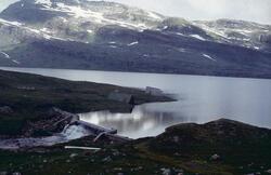 Glomfjord kraftverk, dam Øvre Navervatn.