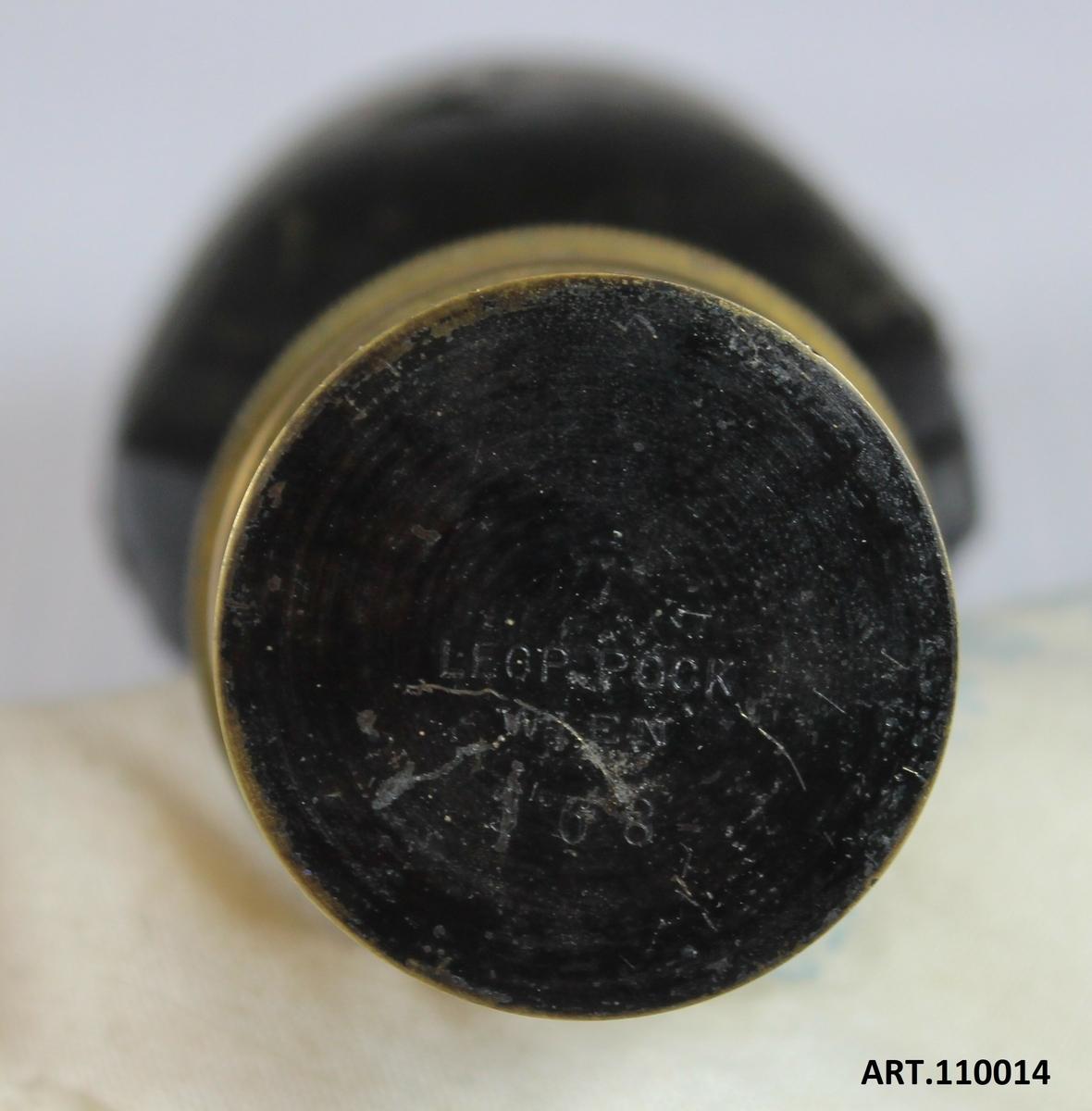 """Österrikisk, typ """"Pock"""". Tillverkare, Leopold Pock, Wien. Individnummer 368"""