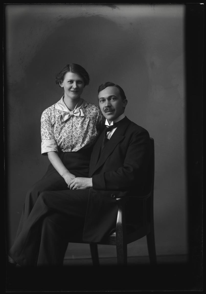Enok Davidsson med fru