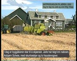 Matproduksjon Jæren 2000-2001