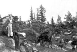 Gunhild og Andres Orebakken på Kleivstul