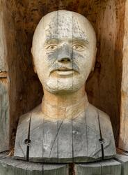 Byste – en skulptur som avbilder en persons hode, hals og sk