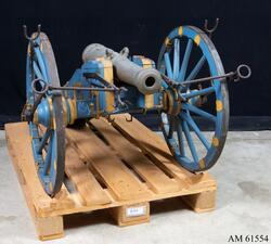 Modell av 16-lödig kanon