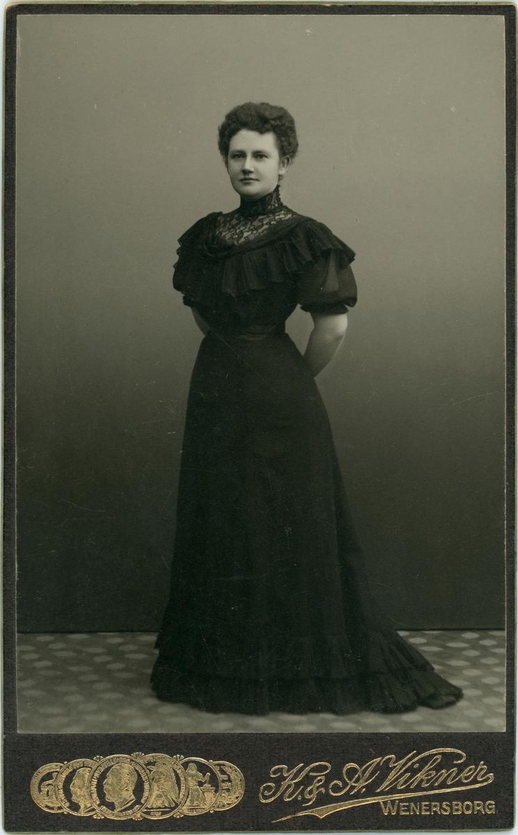 Porträtt Helga Hildebrand