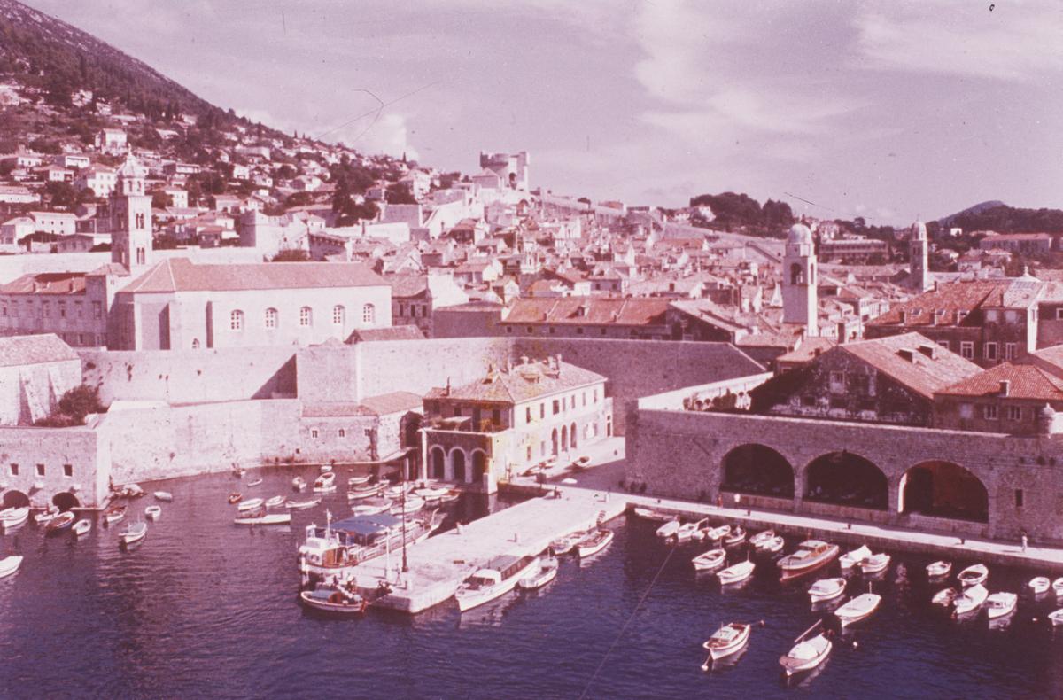 Den gamle havnen.