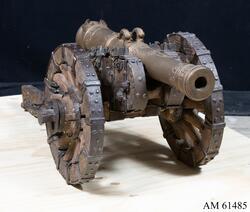 Modell av 18-pundig kanon