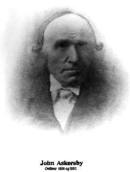 Ordfører John Askersby. Ordfører i Varteig fra 1886 til 1887