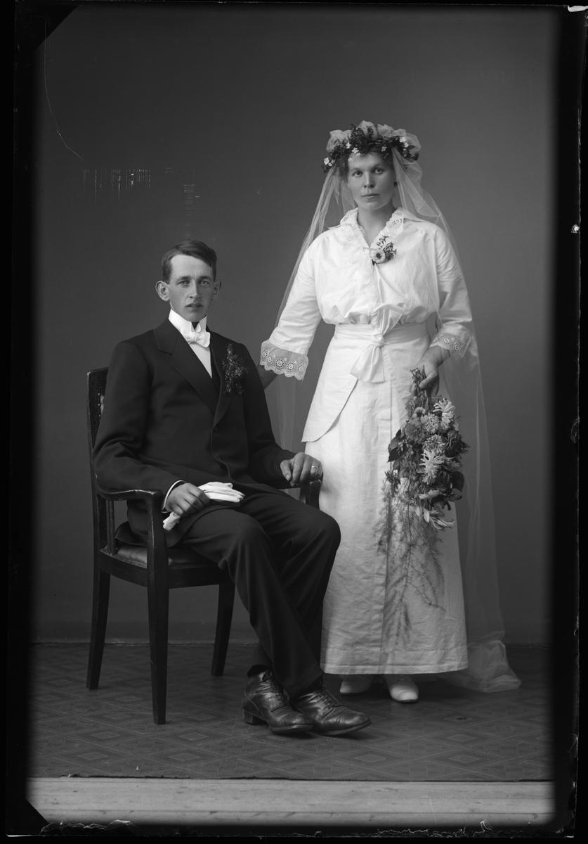 Brudparet Axel Dahlstrand Skogsberg