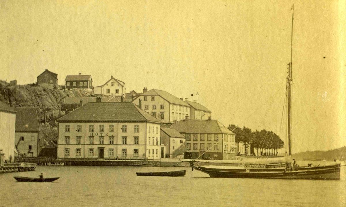 Arendal og omegn - Fra John Ditlef Fürst fotoalbum - Langbryggen  - AAks 44 - 4 - 7 - Bilde nummer 30