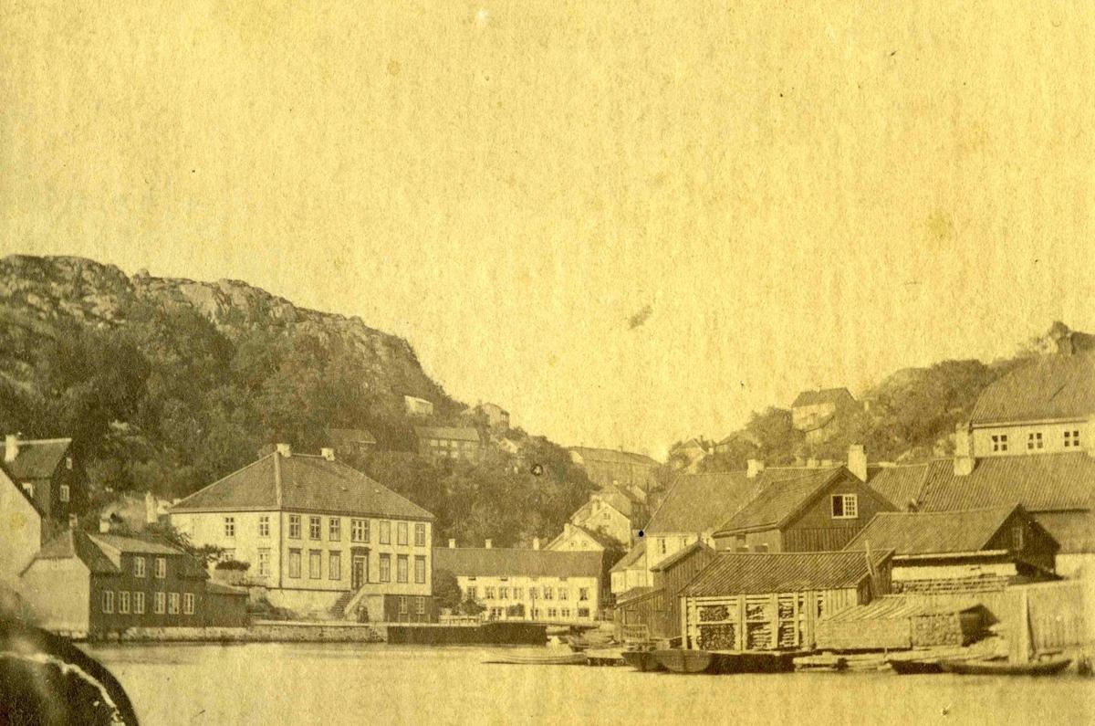 Arendal - Torvet før brannen 1863