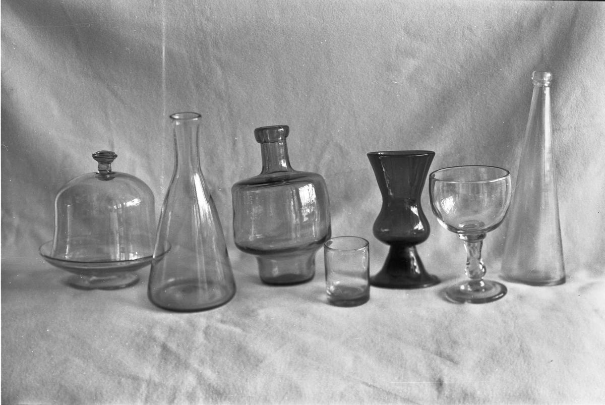 Glassprodukter.