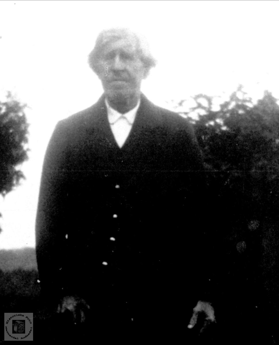 Portrett av Torjus Bjerland, Bjelland.