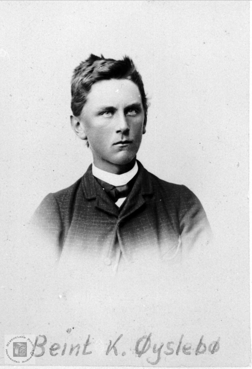 Portrett av Bent Øyslebø