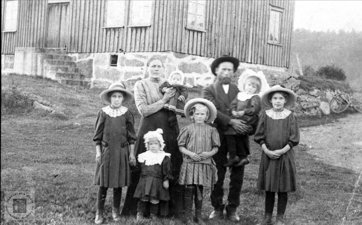 Familiegruppe Røkking, Øyslebø.