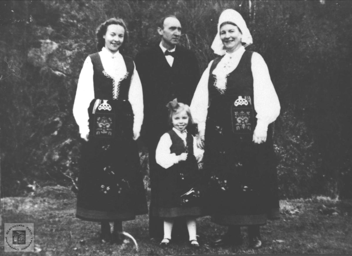 Familien Brænne, Øyslebø.