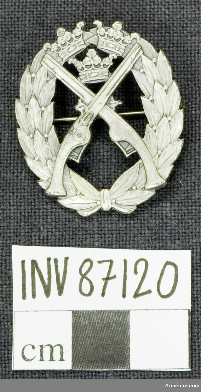 Grupp M II.  Silver.