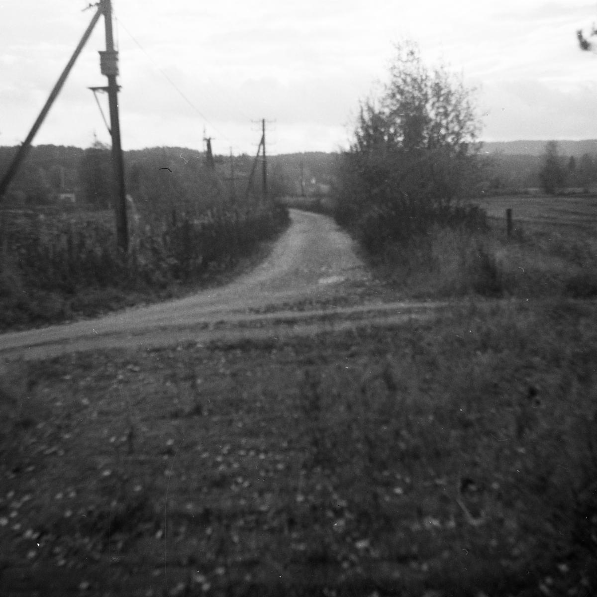 Tertittens tidligere trasé mellom Fossum og Kvevli