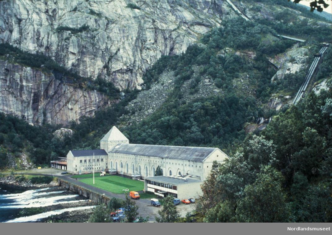 Kraftstasjonen på Fykan. Mai 1987