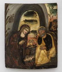 Jesu fødsel [Oljemaleri]